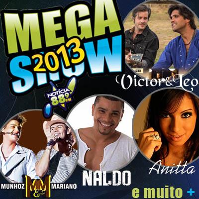 Mega Show Notícia FM - 10/11/13 - Americana - SP  - TK INGRESSOS