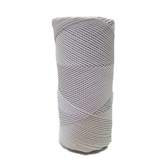 Cordão encerado fino branco (0001) 10mts- CDF029