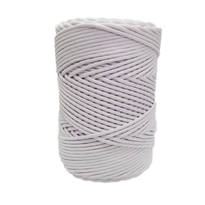 Cordão encerado grosso branco (0001) 10mts- CDG006
