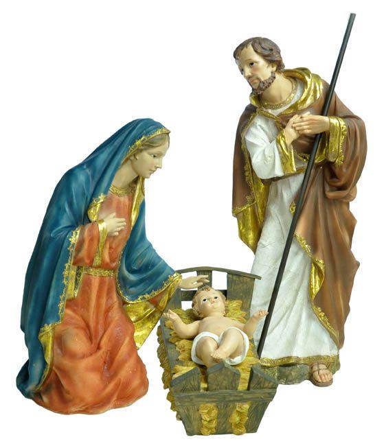 Imagem Sagrada Família Resina 100 cm