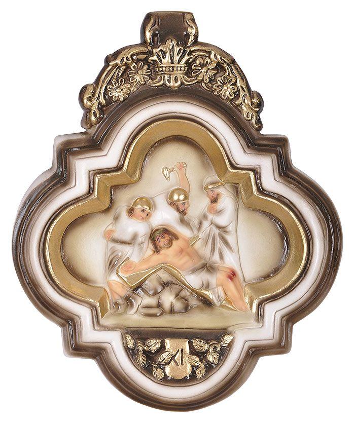 Via-Sacra Durata 15 peças 28x24 cm