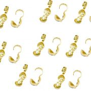 Tips Dourado c/ haste (1.000 unid.)- TPD001 ATACADO
