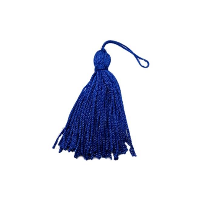Pingente de seda azul bic (100 unid.)- FRAN015 ATACADO