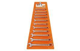 Jogo de Chaves Combinadas de 6 a 22 mm com 11 chaves