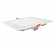 Luminária LED 20W Quadrada Para Embutir Slim Bivolt