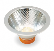 Lâmpada LED AR70 Refletora 7W Bivolt Driver Externo