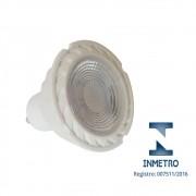 Lâmpada LED Dicroica GU10 3W Bivolt Com Inmetro