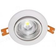 Spot de LED Embutir Redondo 10W Bivolt