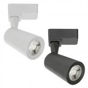 Spot LED 12W de Trilho Eletrificado Preto ou Branco Bivolt